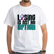 Losing Is Not An Option Thyroid Cancer Shirt