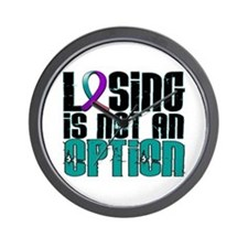 Losing Is Not An Option Thyroid Cancer Wall Clock