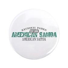 "American Samoa National Park 3.5"" Button"