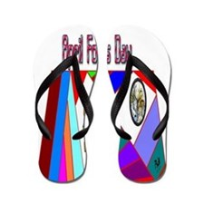 April Fools Day Fun Flip Flops
