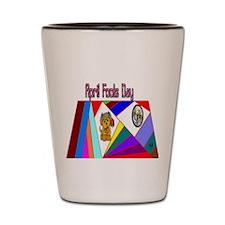 April Fools Day Fun Shot Glass