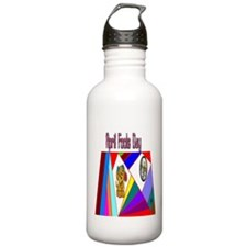 April Fools Day Fun Water Bottle