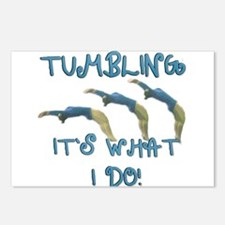 Tumbling Gymnast Postcards (Package of 8)