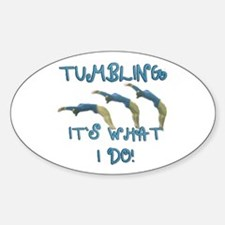 Tumbling Gymnast Decal