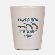 Tumbling Gymnast Shot Glass