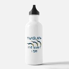 Tumbling Gymnast Water Bottle