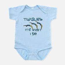 Tumbling Gymnast Infant Bodysuit