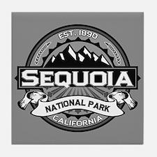 Sequoia Ansel Adams Tile Coaster