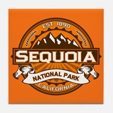 Sequoia Pumpkin Tile Coaster