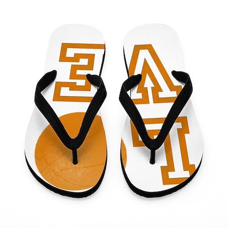Love Basketball Flip Flops