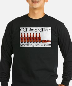 OffdutyOfficerCase Long Sleeve T-Shirt