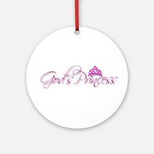 God's Princess Ornament (Round)