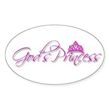 God's Princess Decal