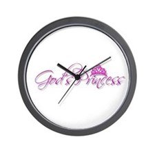 God's Princess Wall Clock
