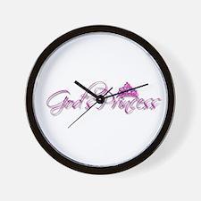 God's Princess Wall Clock
