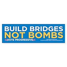 Build Bridges... (10-Pack Stickers)