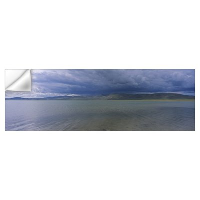 Storm clouds over a lake, Salt Lake, Independent M Wall Decal