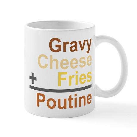 The Poutine Equation Mug
