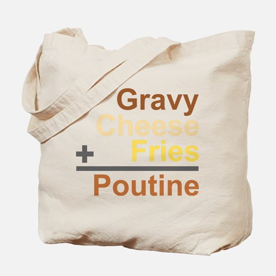 The Poutine Equation Tote Bag