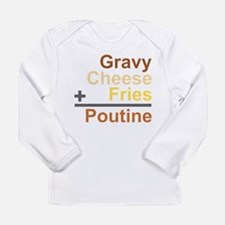 The Poutine Equation Long Sleeve Infant T-Shirt