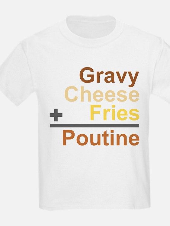 The Poutine Equation T-Shirt