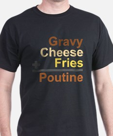 The Poutine Equation T-Shirt