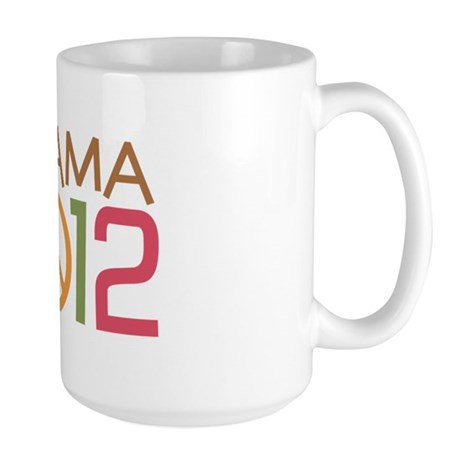 Obama Peace Sign Large Mug