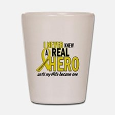 Real Hero Sarcoma Shot Glass