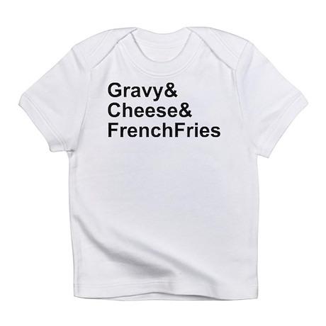 Poutine Ingredients Infant T-Shirt
