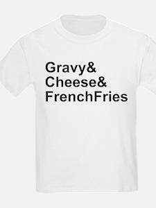 Poutine Ingredients T-Shirt