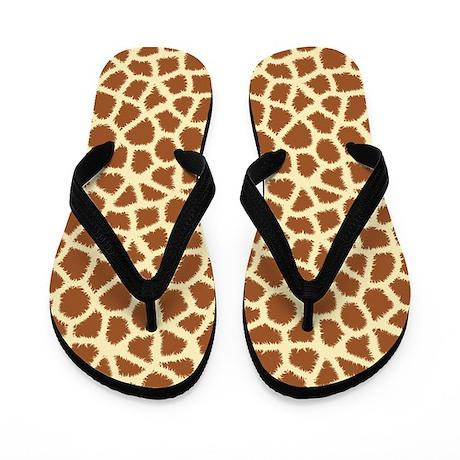 Giraffe Flip Flops