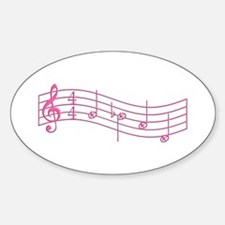 """Pink """"Rue's Whistle"""" Sticker (Oval)"""