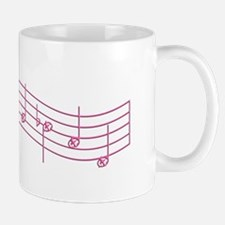 "Pink ""Rue's Whistle"" Mug"