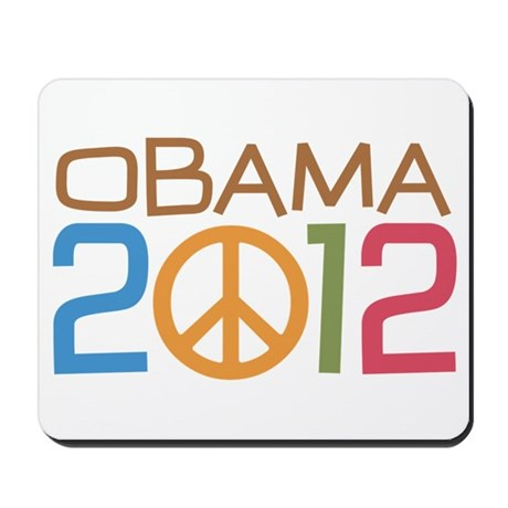 Obama Peace Sign Mousepad