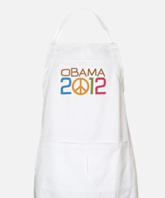 Obama Peace Sign Apron