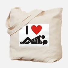 Loving Sex Tote Bag