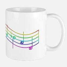 "Rainbow ""Rue's Whistle"" Mug"