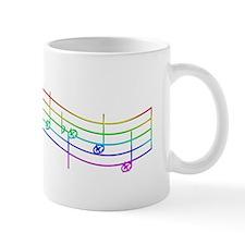 "Rainbow ""Rue's Whistle"" Mug"