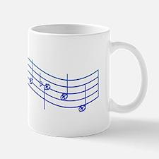"""Mockingjay Blue """"Rue's Whistle"""" Mug"""