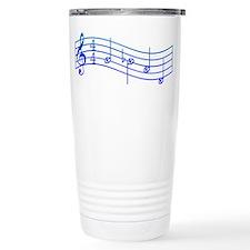 """Mockingjay Blue """"Rue's Whistle"""" Travel Mug"""