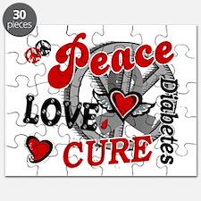 Peace Love Cure 2 Diabetes Puzzle