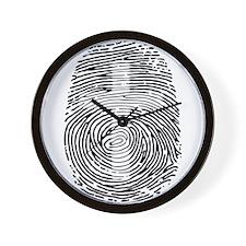 ID in Christ Wall Clock