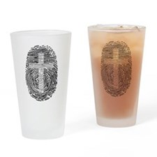 ID in Christ Drinking Glass