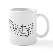 "Black ""Rue's Whistle"" Small Mugs"