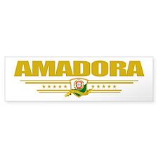 """Amadora"" Bumper Sticker"