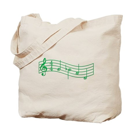 """Clover Green """"Rue's Whistle"""" Tote Bag"""