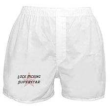 Lock Picking Superstar Boxer Shorts