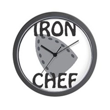 IRON CHEF Wall Clock