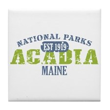 Acadia National Park Maine Tile Coaster