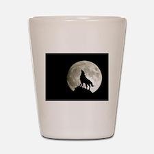 Lone Wolf Shot Glass